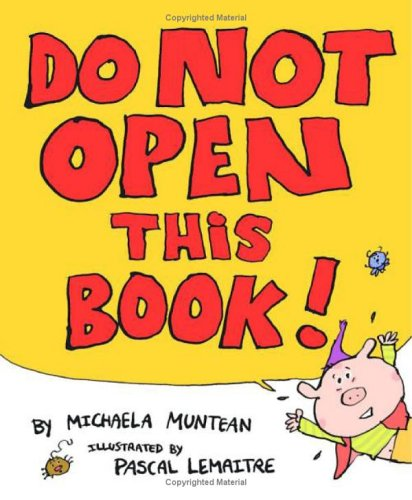 Image result for DON'T OPEN THIS BOOK